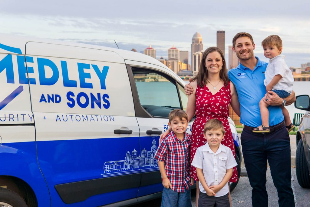 Home Security Company Medley and Sons
